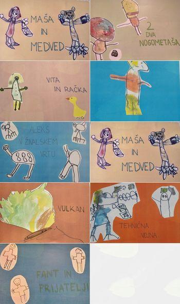 Literarni prvenci predšolskih otrok