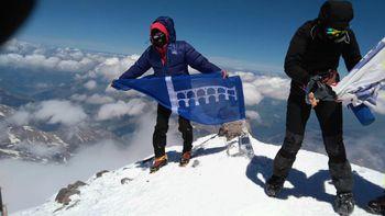 Naskok na najvišjo goro v Ameriki in na južni polobli