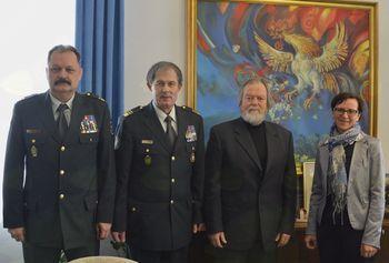Župan sprejel načelnika Generalštaba SV Ostermana