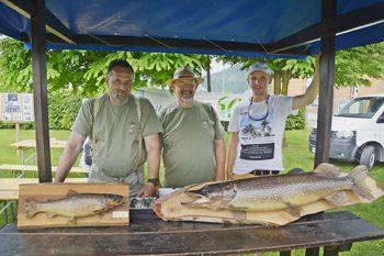 Predstavili so se ribiči