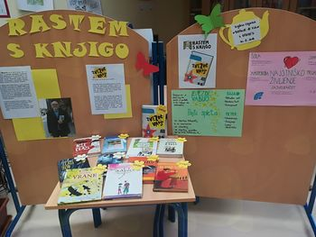Rastem s knjigo: spodbujanje bralne kulture pri učencih