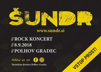 Rock koncert ŠUNDR