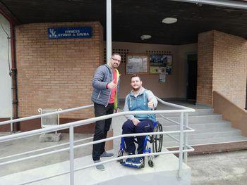 Omogočili dostop tudi invalidom