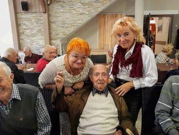 Srečanje članov, ki štejejo častitljivih 80 let in več