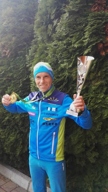 Jožetova prva mednarodna zmaga v maratonu