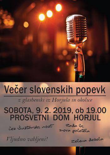 Večer slovenskih popevk