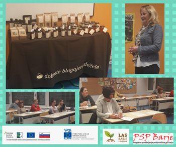 Program spodbujanja podjetništva na barju – podjetniško srečanje z zeliščarico Margito Vehar