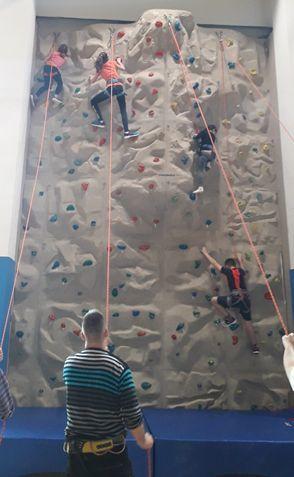 Plezanje planinskega krožka