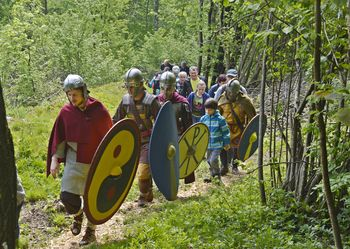 Odprli novo pohodno pot ob Rimskem zidu