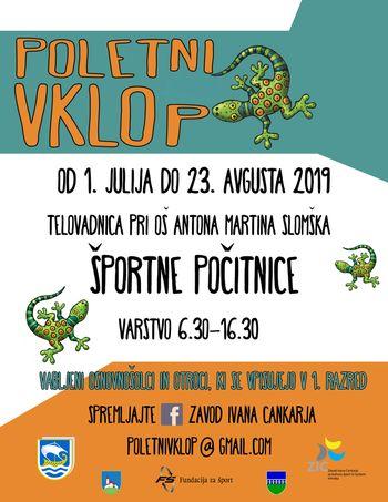 Poletni vklop ponovno tudi za otroke iz Občine Borovnica