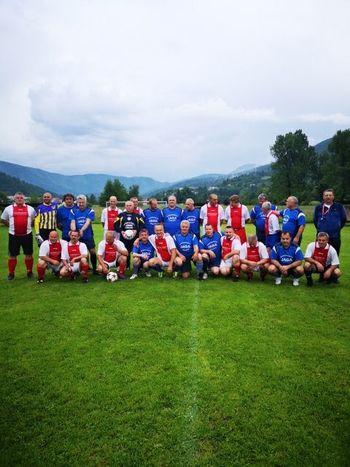 Nogometna veteranska tekma med Borovnico in Dolom