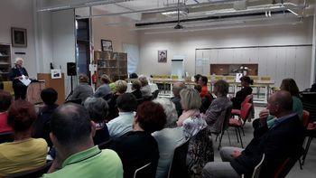Odprtje razstave dejavnosti društva DVIG v Cankarjevi knjižnici na Vrhniki