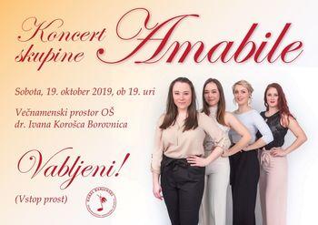 Glasbena skupina Amabile