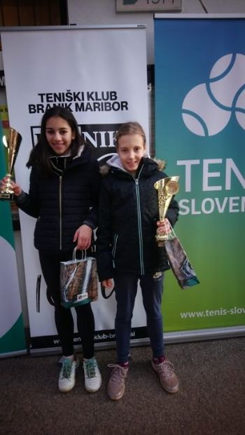 Dragomerška tenisačica Sara Mihelčič postala državna podprvakinja