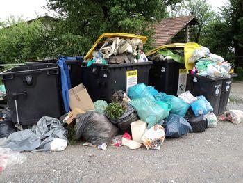 Redni odvoz mešanih komunalnih odpadkov
