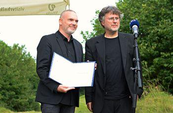Prvič podelili Cankarjevo nagrado: Cankarjev lavreat postal Sebastijan Pregelj