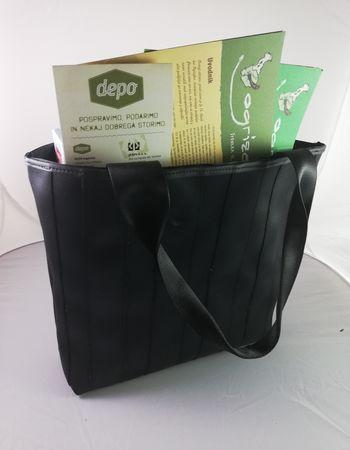 Nov reciklirani izdelek iz vrhniškega Depo-ja