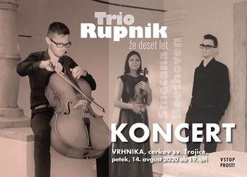 Ta petek vabljeni na koncert Tria Rupnik