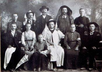 Borovničani v Sveti deželi leta 1910