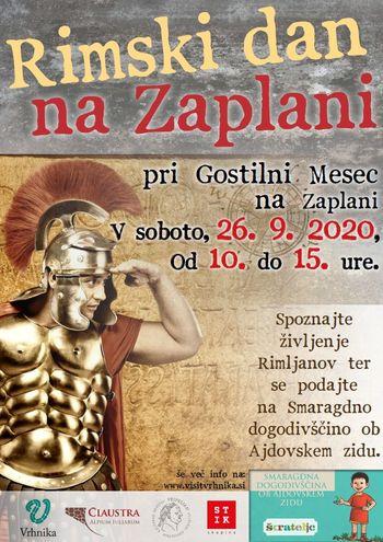 Vabljeni na Rimski dan na Zaplani