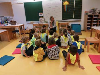 Prvi dan za prvošolce in OŠ Polhov Gradec