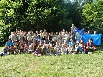 Prva srečanja pri tabornikih