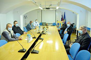 Župan sprejel predstavnike nekdanje MSNZ