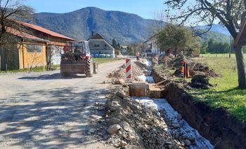 Začela se je rekonstrukcija dela ceste v Kote