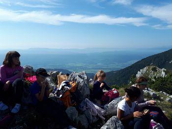 Srednji vrh s čudovitim razgledom