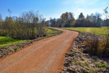 Šest kilometrov nove sprehajalne poti