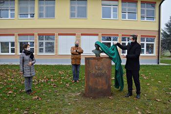 Odkrili Slomškov doprsni kip