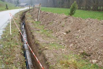 Obnova vodovodnih cevi v Razorski dolini