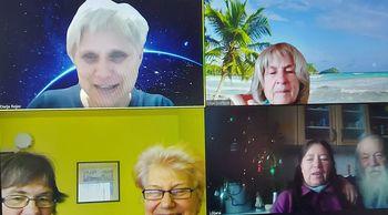 DVIG-ovi študentje o učenju v zoom učilnici