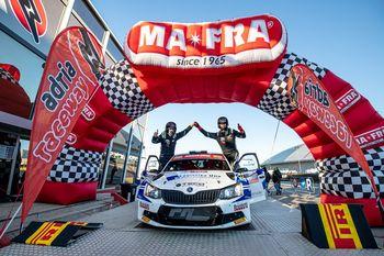 Adria rally show 2021 - Vrhničan Boštjan Avbelj je s hitrimi vožnjami ponovno navdušil Italijane