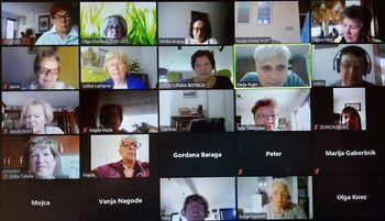 ŠK Pogovori z Darjo Rojec uspešno deluje na virtualnih srečanjih