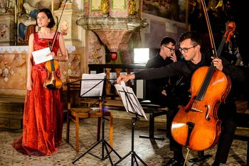 Koncert Tria Rupnik z Markom Hatlakom