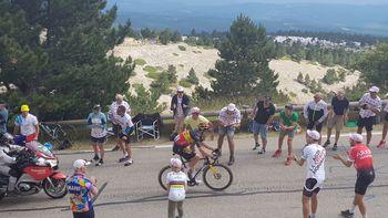 Navijanje za naše kolesarje - Bojan Jesenovec na Mt. Ventouxu