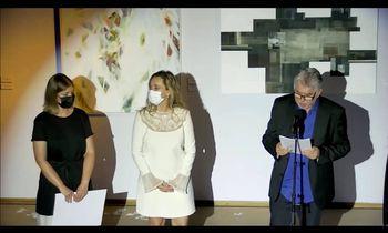 Uspeh vrhniške umetnice Klavdije Jeršinovec na Ex-temporu Piran 2021