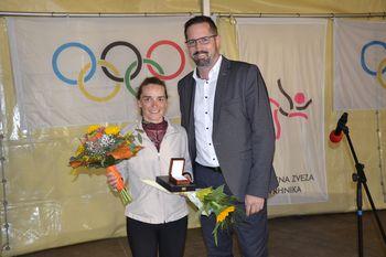 Športnica Vrhnike 2020 je amaterska kolesarka Ajda Opeka
