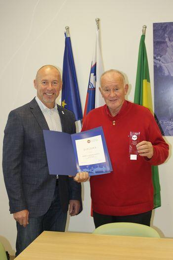 Jerman Blažič prejel bronasti znak AVP