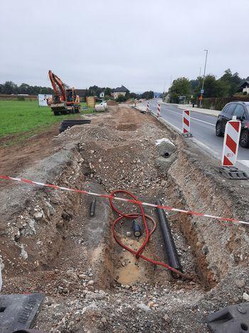 Gradnja kanalizacije se preveša v drugo polovico