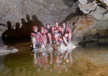 Druga najgloblja jama v Sloveniji