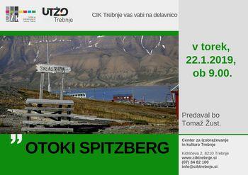 Delavnica UTŽO: Otoki Spitzberg