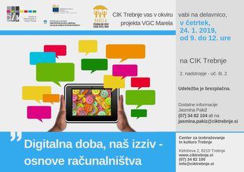 Delavnica VGC Marela: Digitalna doba naš izziv