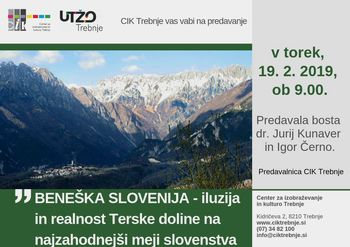 Delavnica UTŽO: Beneška Slovenija
