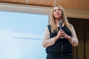 Ania Golędzinowska v Boštanju
