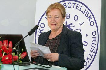 Dr. med. Alenka Krenčič Zagode – predsednica društva za boj proti raku Posavja in Obsotelja