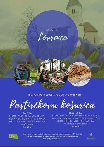Vabljeni v Sevnico; spoznajte Lovrenca s pastirčkovo košarico v roki