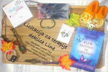 Dobrodelna predpraznična licitacija za deklico Lino Šukelj