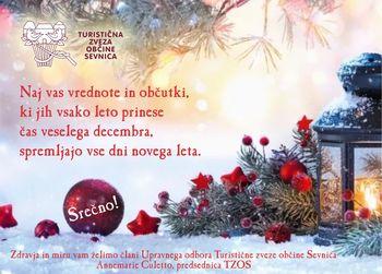 VOŠČILO Turistične zveze občine Sevnica
